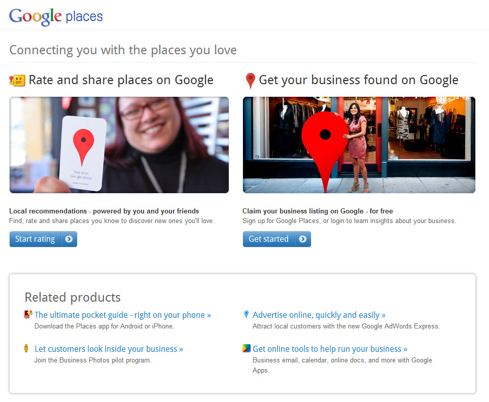 Google Places for Real Estate Agents