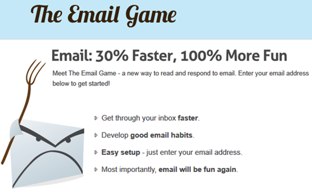 Email игры